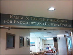 Endoscopy Center Dedication